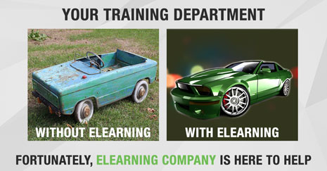 Your Training Department Needs eLearning; Fortunately, eLearning Company is Here to Help