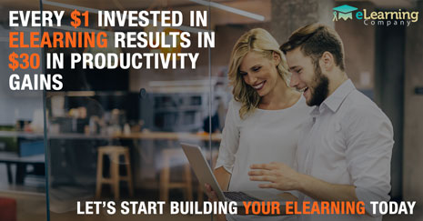 Every Dollar Invested in eLearning Results in $30 in Productivity Gains