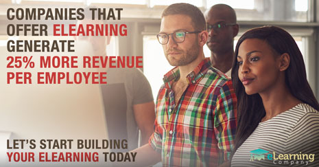 Companies that Offer eLearning Generate 25% More Revenue per Employee