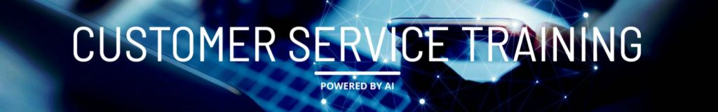 Customer Service Training Powered by Artificial Intelligence